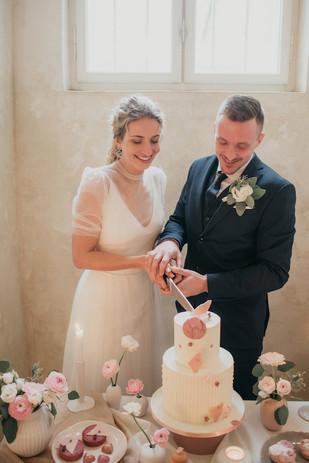 Prostě šťastná nevěsta a ženich