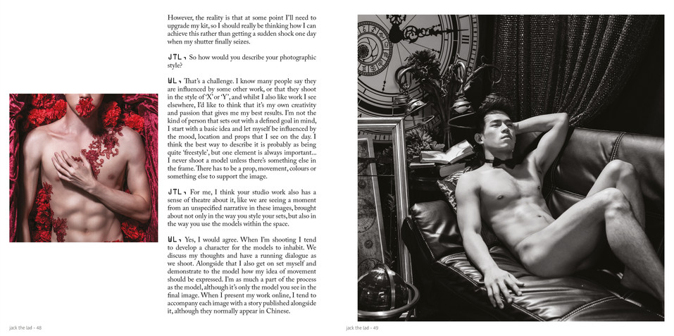 Interview Magazine Jack the Lad UK Waynn Low