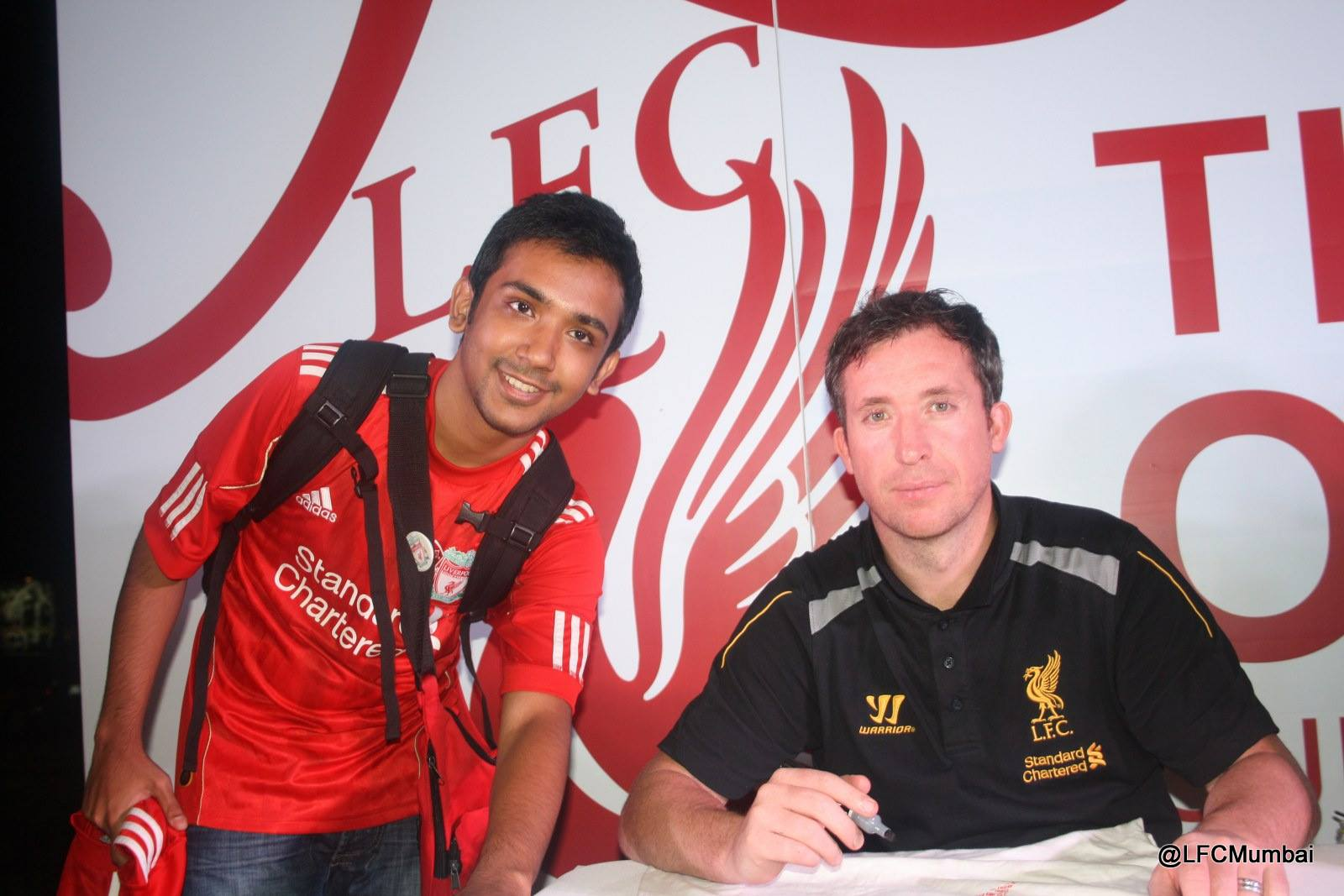 Meeting Robbie GOD Fowler!