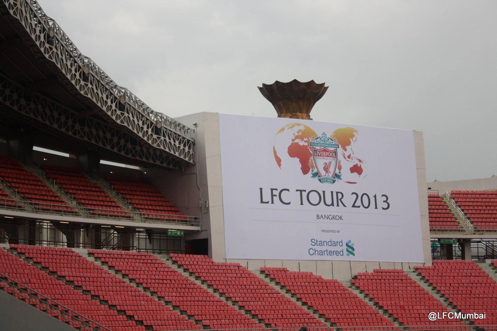 LFC Pre-season Tour 2013