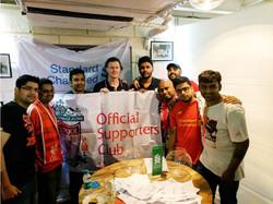 Steven McManaman in Mumbai