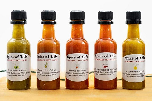 Spice of Life Mini 5 pack Sampler