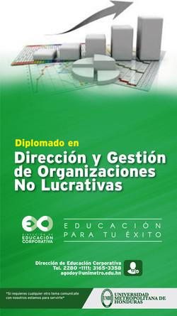 Dirección y Gestión de Organizaciones No Lucrativas