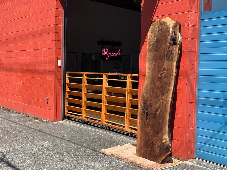 Oregon Black Walnut Live Edge Slab