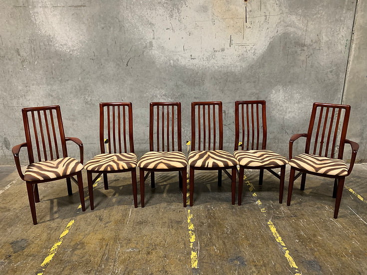 Kai Kristiansen for Schou Andersen Dining Chair Set - Danish Modern Furniture