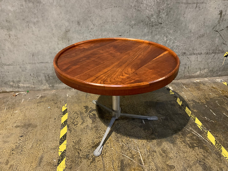 Teak Nautical Table - Removable Legs - Mid Century Modern Style