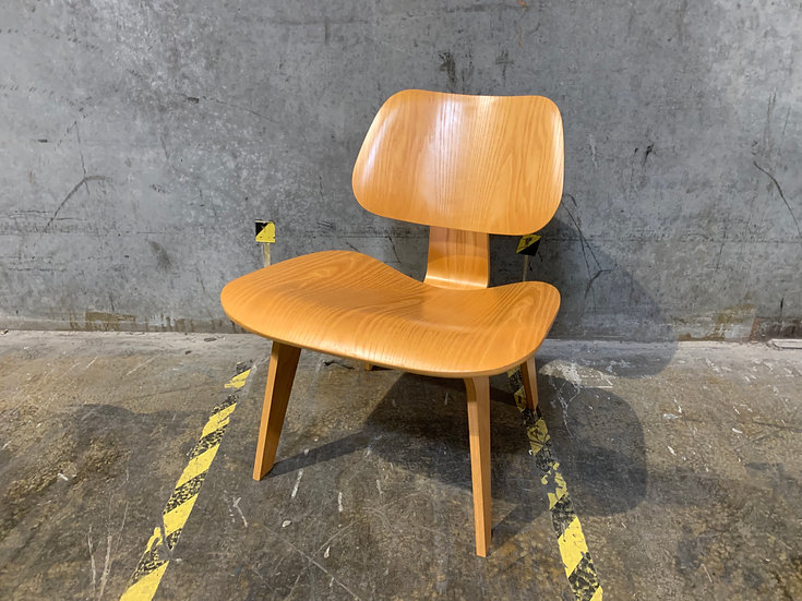 Herman Miller Eames LCW Molded Plywood Chair - White Ash