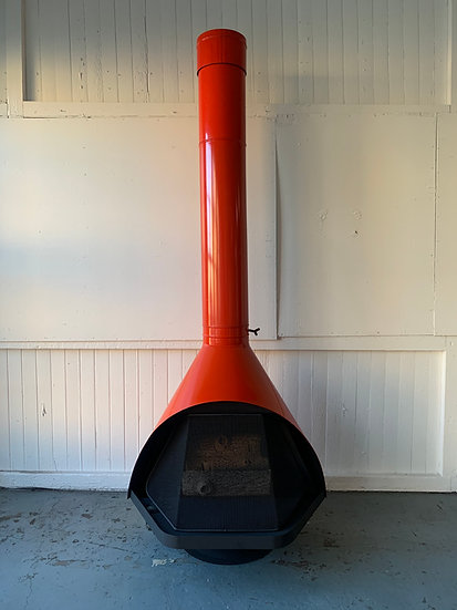 Wendell Lovett for Condon-King Mid-Century Modern Fireplace - Natural Gas