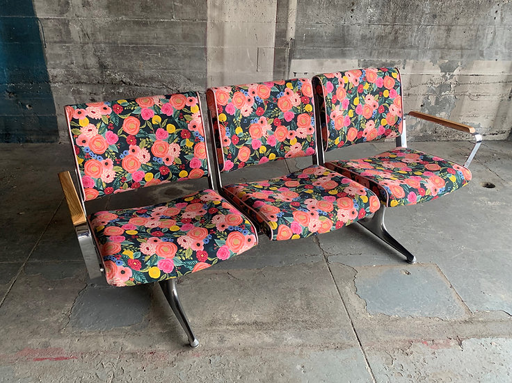 Bridgetown Flower Power Studio Couch