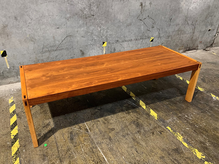 Lane Walnut Rectangular Coffee Table