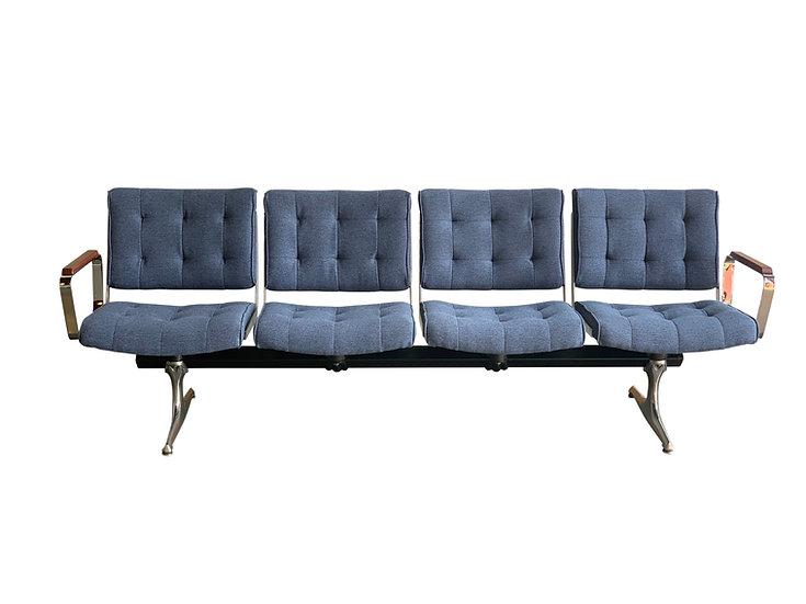 Bridgetown Studio Sofa - Luum Ocean Tweed