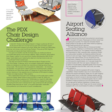 The PDX Chair Design Challenge - Passenger Terminal World Magazine – June 2018