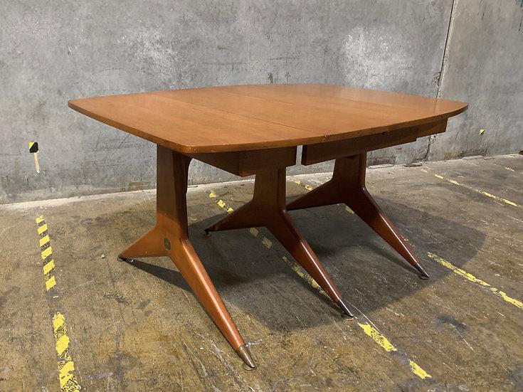 Brickwede Brothers Vintage Dining Room Table - Mid Century Furniture