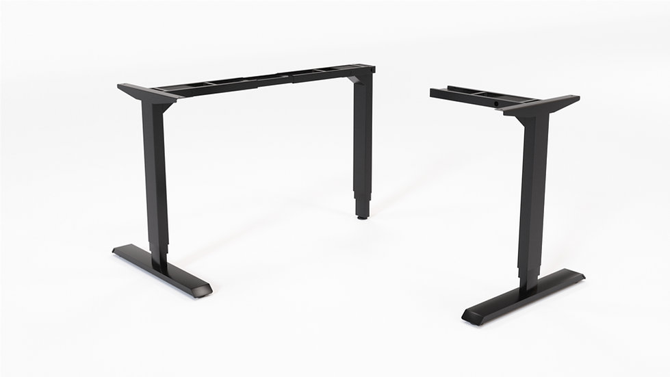 HAT Contract L Unit 3-Stage Sit-Stand Desk Base
