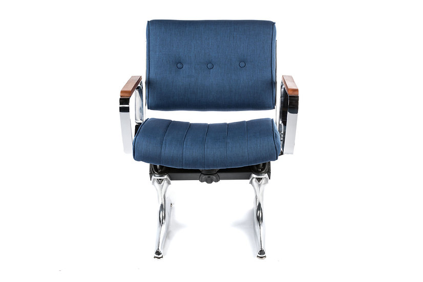 PDXoriginals Powell Accent Chair - Royal Blue