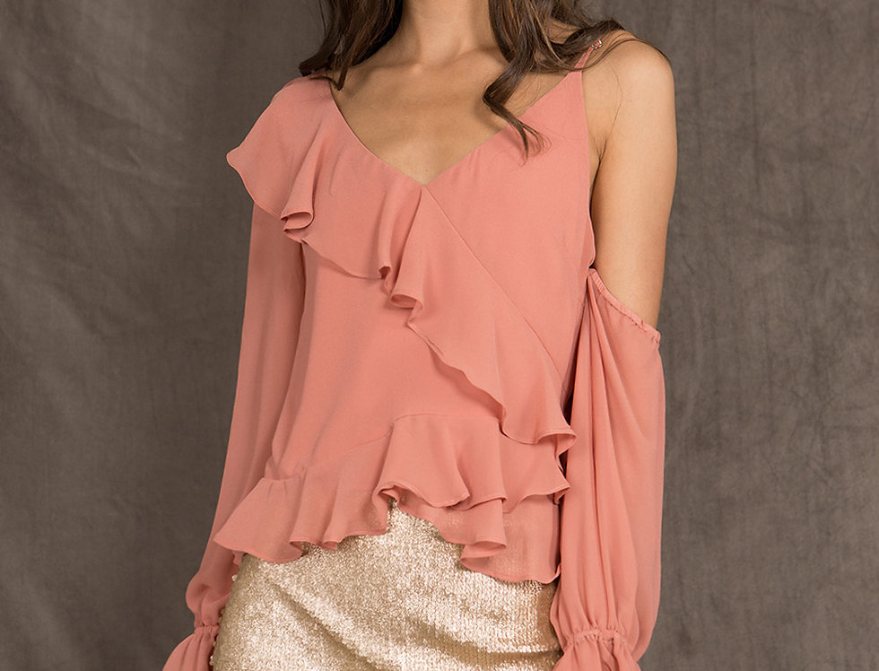 Pink Moroccan Top