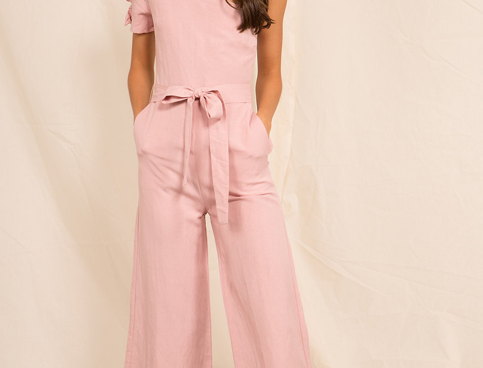 Pink Java Jumpsuit