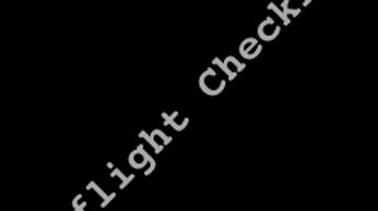 """Preflight Checklist"""