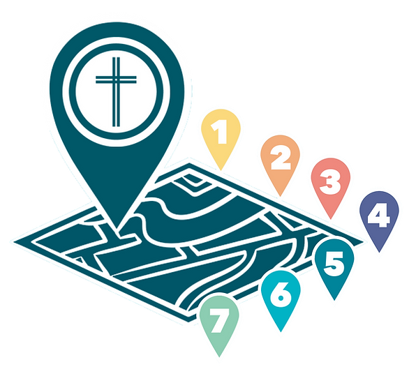 Milestones Map Logo