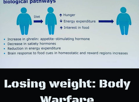 Losing Weight: Waging a war against your body
