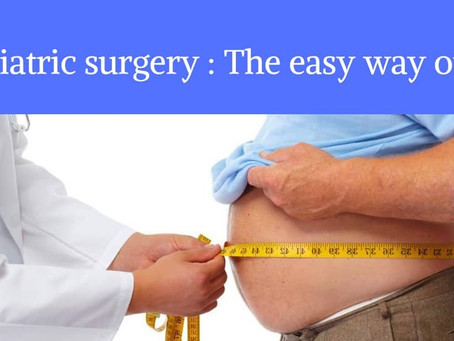 Bariatric Surgery: Not the 'Easy' Way Out—the 'Healthy' Way Out