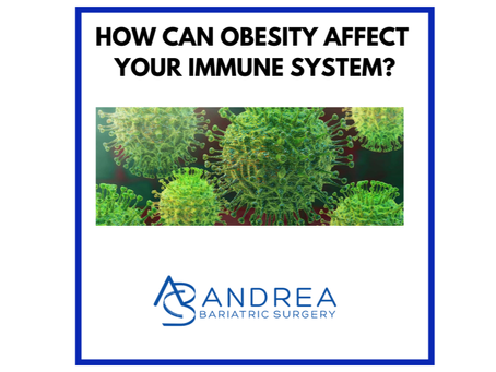 How can obesity affect your immune system?