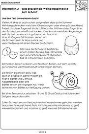 """startlearnING - Mein Erfinderheft """"Schneckenbehausung"""""""