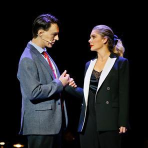 Alex Lewis and Natalie Bassingthwaighte