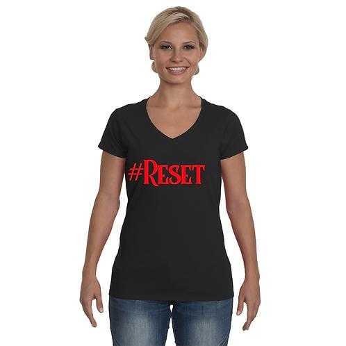#Reset V-Neck Shirts