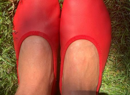 red MajestiBallerina© favorite slippers by Sylviasschuhwelt