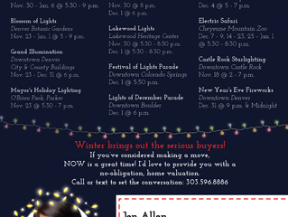 Holiday Lights Events!