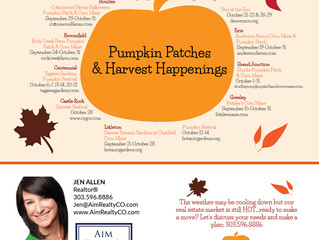 Pumpkin Patches & Harvest Happenings