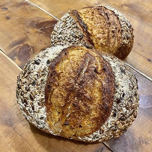 Seeded Sourdough Crunch