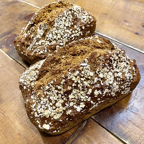 Guinness & Oat Soda Bread