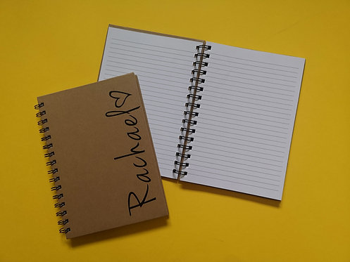Name & Heart Notebook