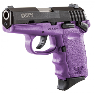 SCCY Industries CPX-1 Purple