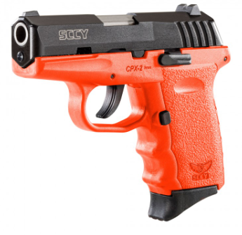 SCCY Industries CPX-2 Orange