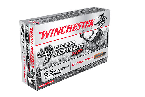 Winchester 6.5 Creedmoor 125 gr Deer Season XP Extreme Point