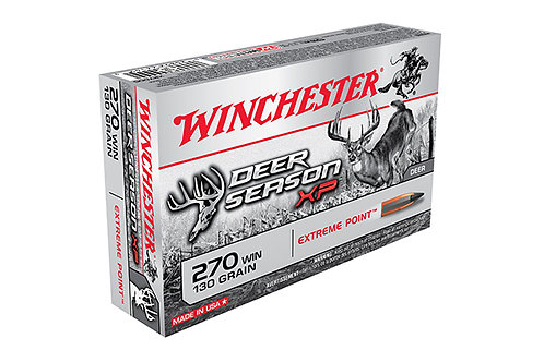 Winchester 270 130 Extreme Point Deer Season XP