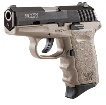 SCCY Industries CPX-2 Flat Dark Earth