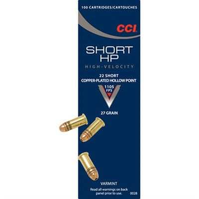 CCI 22 Short HP