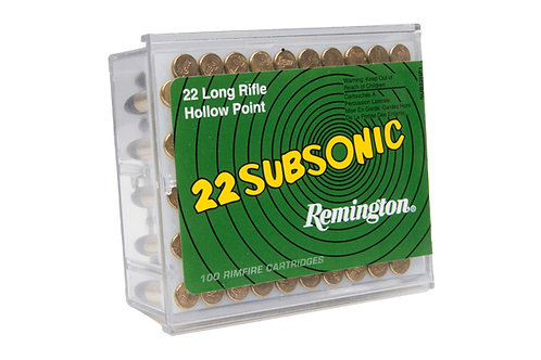 Remington 22LR Subsonic Hollow Point