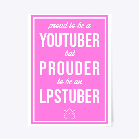 PROUD LPSTUBER - Poster