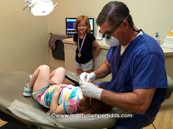 Dr. Matt taking great care of the kiddos! (1)