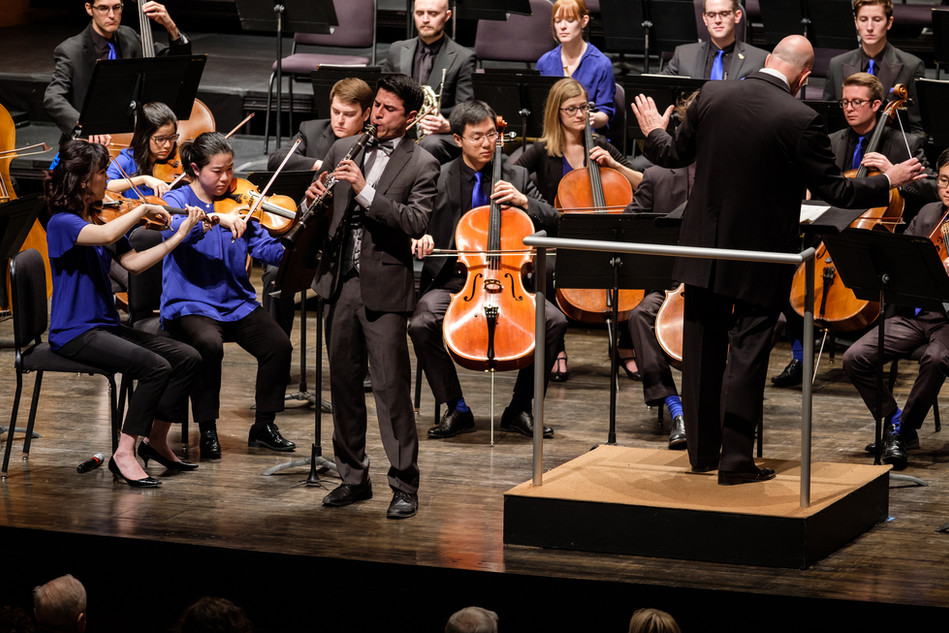 Weber Concerto Concert / New York Public Radio