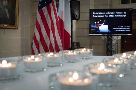 2019-10-25 Hommage aux victimes Pittsbur