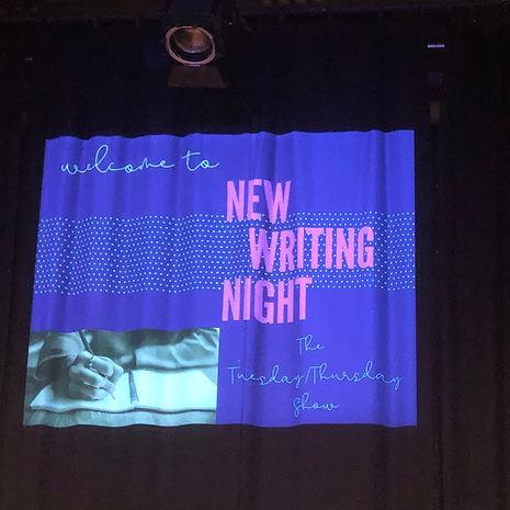New Writing Night