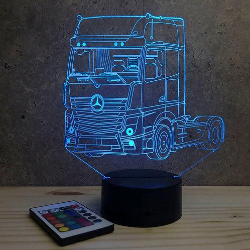 Lampe Camion Mercedes personnalisable 16 couleurs led RGB & télécommande