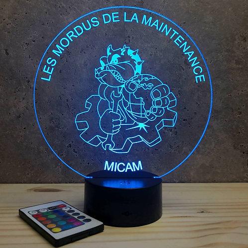 Lampe Micam personnalisable 16 couleurs led RGB & télécommande