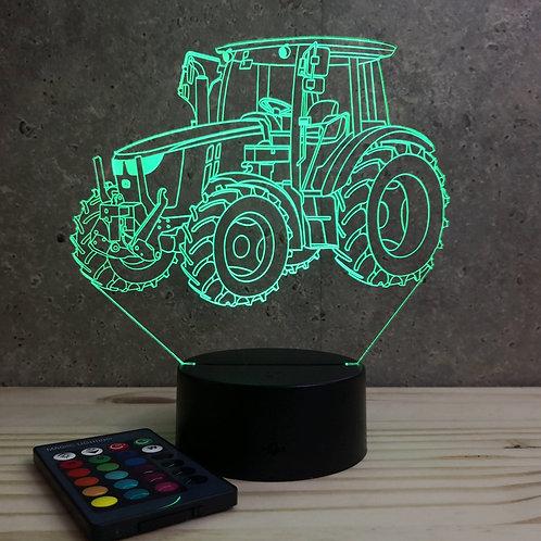 Lampe Tracteur John Deere personnalisable 16 couleurs led RGB & télécommande
